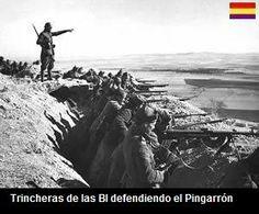 Spain - 1936-38. - GC - brigada internacional defendiendo el Pingarrón