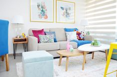 Proyectos archivos   El Blog del Decorador Color Azul Rey, Entryway, Dining Room, Couch, Furniture, Home Decor, Mini, Blog, Ideas