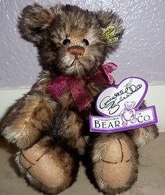 Dolls & Bears Annette Funicello Mohair Bear Terrific Value
