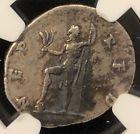 Titus as Caesar 72AD Antioch NEP RED  Ancient Roman Silver Denarius NGC VF 3.32g Buy now! #silverred #redroman #romanred