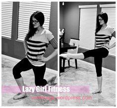 lazy girl fitness