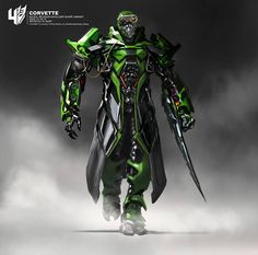 Transformers: Age of Extinction Concept Art from Wesley Burt Crosshairs is my new favourite Transformer