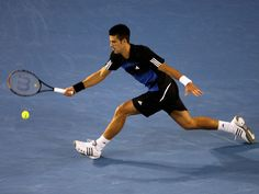 Novak Djokovic is at the top of his game.  His speed, precision, power, and focus will make him hard to beat this year