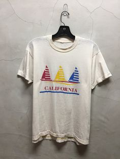 vintage t shirt 80s California lifestyle off by imtryingtofocus