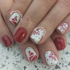 Christmas by preciousphan  #nail #nails #nailart (Best Christmas Nails)