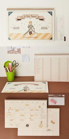 Big Petit Prince Desk Scheduler