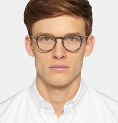 Oliver Peoples - Sheldrake Round-Frame Tortoiseshell Acetate Optical Glasses
