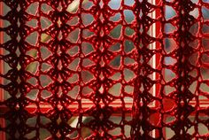 crochet curtain pattern 10 Beautiful Free Crochet Curtain Patterns                                                                                                                                                                                 More