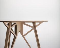 Plywood furniture TV Unit - Furniture designed for inspiring workplaces Nomadic Furniture, Plywood Furniture, Unique Furniture, Modular Furniture, Industrial Furniture, Modern Kitchen Tables, Wooden Kitchen, Tv Unit Furniture Design, Plywood Projects