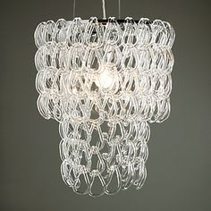 I love this chandelier. Glass Links Chandelier from Z Gallerie Stylish Home Decor, Z Gallerie, Cheap Chandelier, Glass Chandelier, Cool Chandeliers, Hanging Lamp, Zgallerie, Chandelier, Affordable Modern Furniture