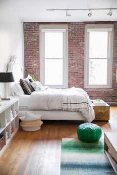 Coco+Kelley's Seattle Loft Home Tour: http://www.stylemepretty.com/living/2015/11/12/cocokelleys-bright-seattle-loft-tour/