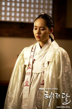 Korean drama [Moon Embracing the Sun] = 한가인 [Han Ga-in]