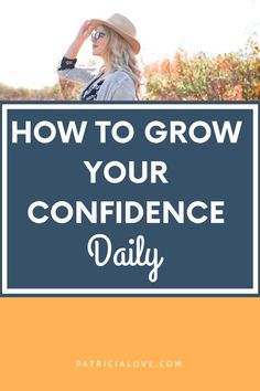 The best tips to help you grow your confidence daily! What Is Anxiety, Deal With Anxiety, Confidence Boost, Confidence Building, Change Your Mindset, Change My Life, Positive Mindset, Positive Quotes, Im Worth It