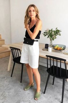 Outfit from Brittany Bathgate. Basic Style, Simple Style, Style Me, Summer Outfits, Casual Outfits, Fashion Outfits, Ootd Fashion, Brittany Bathgate, Casual Chique