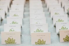 like these escort cards