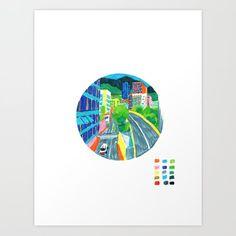 Monaco, Monte Carlo Art Print by bublinko Buy Frames, Monte Carlo, Monaco, Printing Process, Gallery Wall, Art Prints, Artist, Shop, Art Impressions