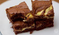 Cheesecake brownies by FoodFfs