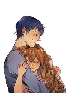 "sutefudraws: ""dragon & tiger + matching icons for you and your bae "" Best Anime Couples, Manga Anime, Anime Art, Otaku, Cute Couple Comics, Cute Romance, Couple Illustration, Anime Shows, Magical Girl"