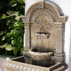 51 Ornate Lavello Outdoor Water Fountain with Submersible Pump - Sunnydaze Decor, Beige