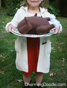 Charming Doodle...sew it, build it!: DIY a Felt Turkey for the Holidays