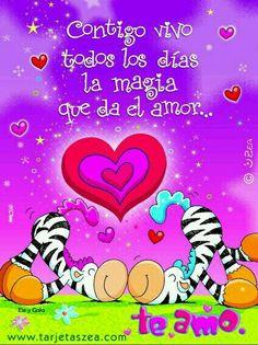 Días Mágicos!!! Cute Messages, Spanish Quotes, Maya, Qoutes, Love Quotes, Marriage, Happy Birthday, Scrapbook, Crafty