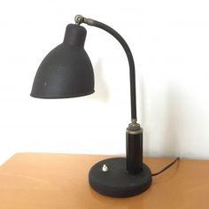 Located using retrostart.com > Molitor Berlin Desk Lamp by Christian Dell for Kaiser Leuchten