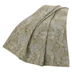 HiEnd Accents Chenille Paisley Throw - FB3801TH