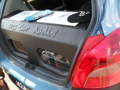 Custom B2 Audio system for a Toyota Yaris