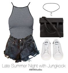 And alexander wang kpop outfits, short outfits, hipster outfits, cute outfi Hipster Outfits, Kpop Fashion Outfits, Mode Outfits, Dance Outfits, Short Outfits, Women's Fashion Dresses, Girl Outfits, Casual Outfits, Ft Tumblr