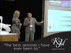 Karen Hanover has been teaching real estate investors since 2007 and thousands of raving fans http://www.karenhanover.biz
