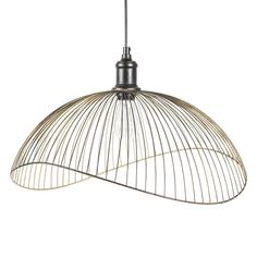 Lámpara de techo de metal negro D 48 cm PHAONA