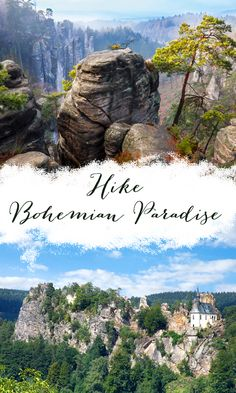 One day hiking to explore breath-taking scenery in Bohemian Paradise - one of the most famous National Park in the Czech Republic. Beautiful Castles, Day Hike, Discount Travel, Tour Guide, Czech Republic, Prague, Paradise, National Parks, Scenery