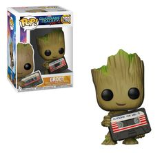 Guardians of the Galaxy 2 - Groot (with Mixtape), Marvel Collector Corps. exclusive