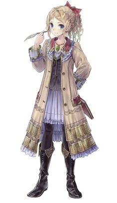 Cordelia von Feuerbach - Characters & Art - Atelier Totori: The Adventurer of Arland