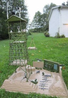 Vintage Rambo SAVAGE Strike Headquarters Playset 1986 Coleco Forces of Freedom #Coleco