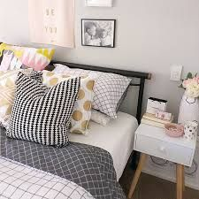 You Owe It To Yourself To Check Out These Home Improvement Tips! -- More info could be found at the image url. Dream Bedroom, Home Bedroom, Girls Bedroom, Bedroom Decor, Bedrooms, Bedroom Ideas, Kmart Home, Kmart Decor, Living Comedor