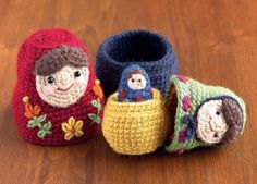Nesting Dolls CAL: Matryoshka Pattern 1 – Large Doll   Petals to Picots