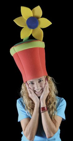 Gorro gomaespuma  Maceta Sombreros Disfraz fe9191338e6