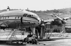 Lockheed Constellation L.049-46-26, Panair do Brazil, circa 1950.