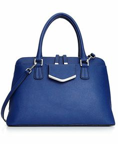 Calvin Klein Handbag, On My Corner Saffiano Satchel. It comes is both black and blue. And of course, I want them both.