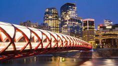Millennium Bridge in Alberta  been there numerous times!