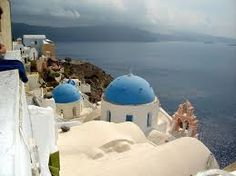To go to Santorini.I just love these colors.  <3