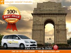 Car Rental Delhi Agra Jaipur Golden Triangle is the classic introduction to incredible India. If you are the first time visitor in the country then, enjoy the cultural experience of its places with our range of Golden Triangle travel Packages. This Golden Triangle India Tour Covers 3 prominent cities for tourists i.e Delhi, Agra and Jaipur. These travel itineraries offer you the most enriching cultural experience with famous memorials, UNESCO World Heritage sites including Taj Mahal.