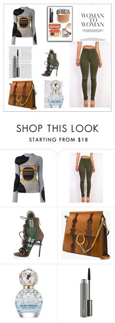 """""""Untitled #580"""" by lashone-kelly on Polyvore featuring Dolce&Gabbana, Maison Margiela, Dsquared2, Chloé, Balmain, Marc Jacobs and MAC Cosmetics"""