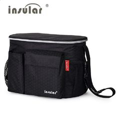 "Universe of goods - Buy ""insular Brand baby Thermal Insulation Stroller bag nappy bags cooler insulated mother maternity bag mummy messenger diaper bag"" for only USD. Baby Nappy Bags, Nappy Changing Bags, Large Diaper Bags, Buggy, Fashionable Diaper Bags, Stroller Bag, Stroller Storage, Baby Prams, Baby Carriage"