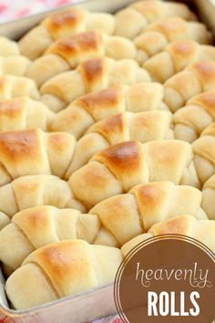 Heavenly Rolls Recipe
