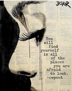 """thought it was kinda radical Saatchi Online Artist: Loui Jover; Pen and Ink, Drawing """"reflection"""" - idea for printing on newspaper or ledger art. Would love to recreate with newspaper and charcoal. Newspaper Art, Newspaper Painting, Saatchi Online, Ink Illustrations, Face Illustration, Love Art, Urban Art, Painting & Drawing, Life Drawing"""