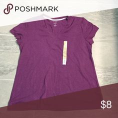 Purple T-Shirt Everyday purple short sleeved t-shirt Sonoma Tops Tees - Short Sleeve