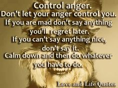 Image result for how to control anger quotes