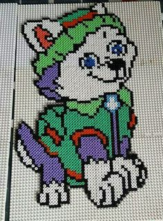hama beads paw patrol everest